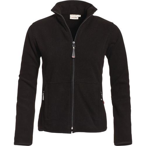 fleece-jakke-dame-med-logo-tryk-sort-reklamedimser